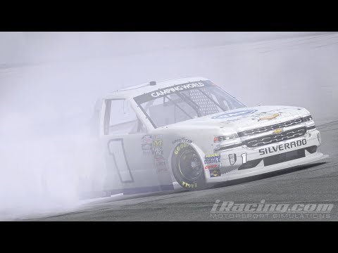 2018 iRacing : NASCAR iRacing Class C Fixed  @ Darlington Raceway - full race