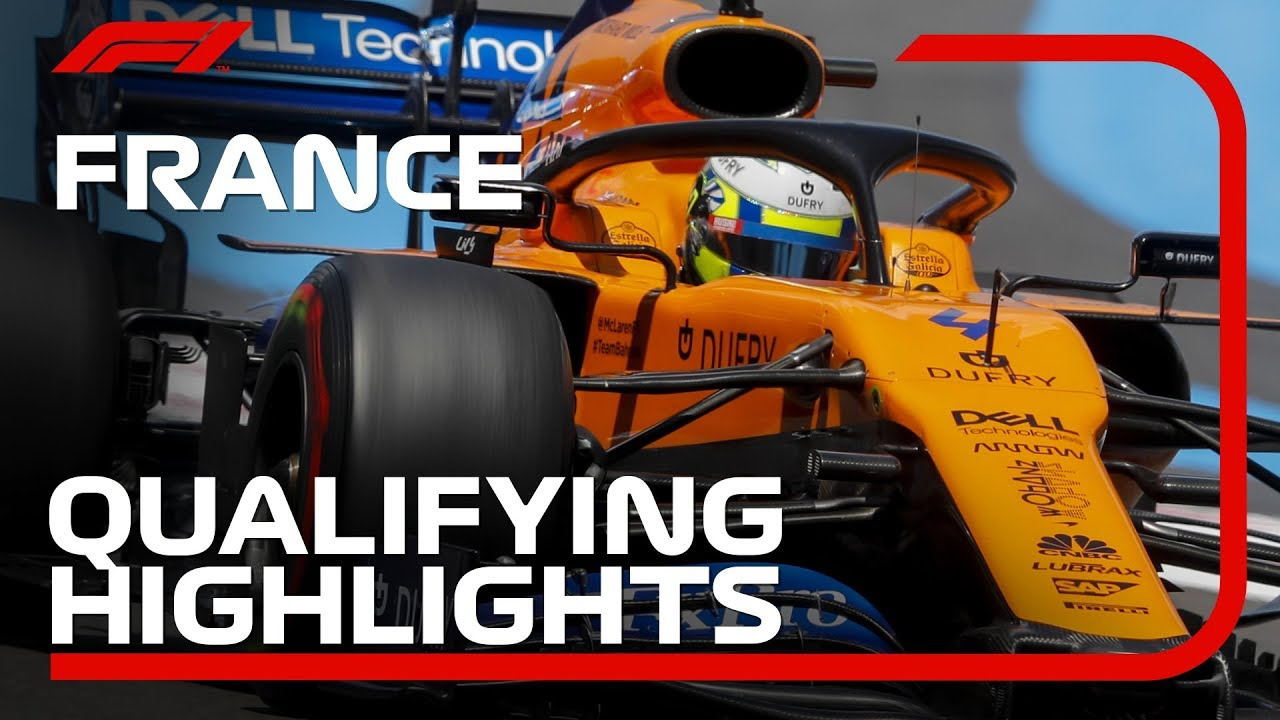 Download 2019 French Grand Prix: Qualifying Highlights