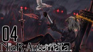 NieR Automata | EP 4 | LA DAMA Y EL PIRATEO