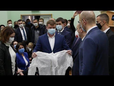 Після мітингу швидкої Прем'єр-міністр завітав у Білу Церкву