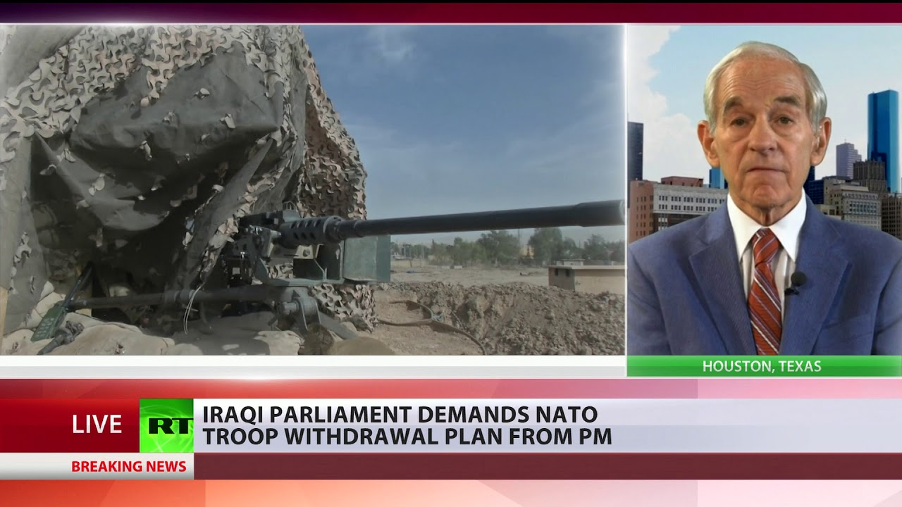 15 years in Iraq: 'Enough is enough' – Ron Paul on NATO's mission