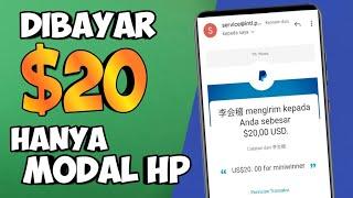 Baru Rilis Aplikasi Penghasil Uang Saldo Paypal Gopay & Dana || Cara Dapat Uang Hanya Modal Android
