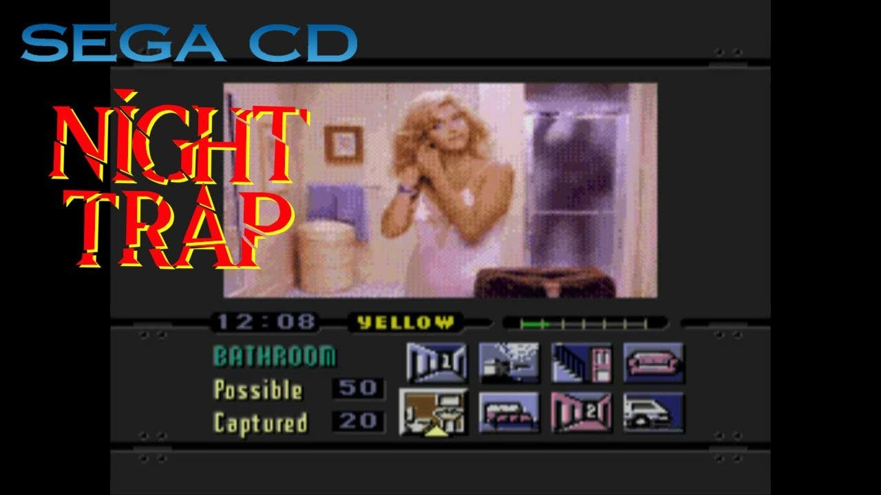 Night Trap - SEGA CD / Mega-CD (1992) 'Longplay 2'