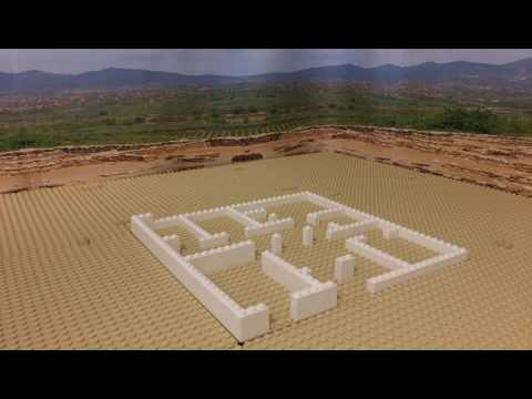 How to build in LEGO...an Ancient Greek house - stop-frame animation
