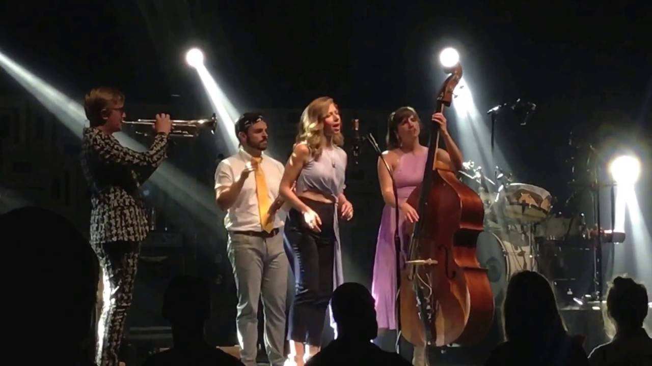 What I M Doing Here Lake Street Dive At Radio City Music Hall Nyc 10 8 16