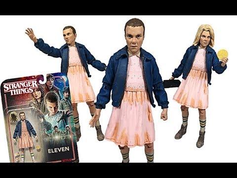 "Stranger Things McFarlane ELEVEN /& CHIEF HOPPER 7"" Action Figures SET Netflix"