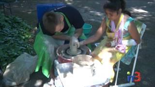 Мастер-класс по гончарству для детей, отдыхающих в лагере при ЦНТТУМ(, 2017-06-13T09:26:37.000Z)