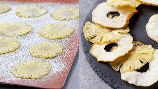 Technique de cuisine : préparer des chips de fruits