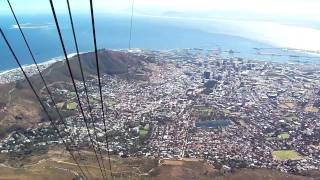 Table Mountain Cable Car - Cape Town South Africa HD