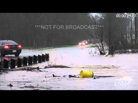 3-10-16 Jackson, Mississippi Metro Area Flash Flood