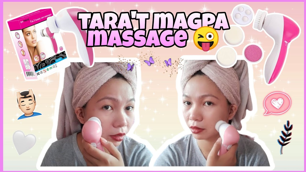 5 IN 1 MASSAGER IN SHOPEE  REVIEW   mylene channel