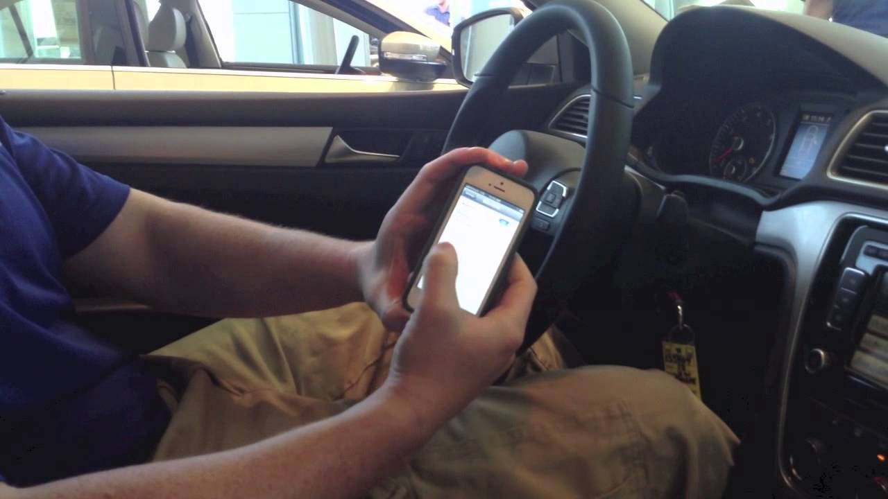 HOW TO: Pair iPhone Bluetooth to Volkswagen (all models)