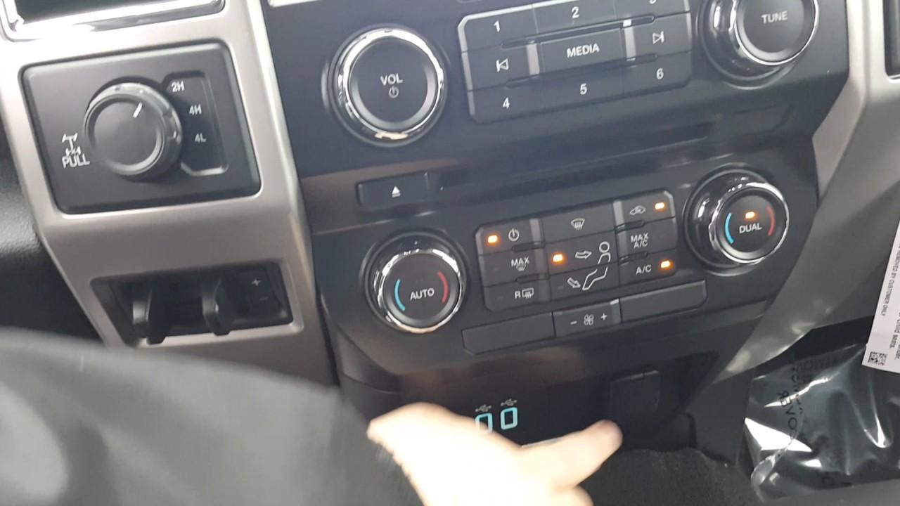 2017 Ford F350 Lariat Interior