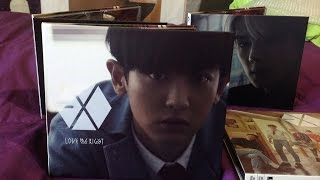 "Unboxing EXO ""Love Me Right"" Japanese Chanyeol Ver."