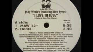 Masters At Work feat Jody Watley - Love To Love (main mix)