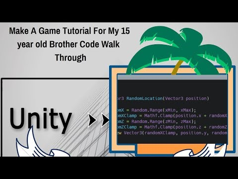 Make A Unity3d Game Tutorial WalkThrough: Roll A Ball With Extras thumbnail