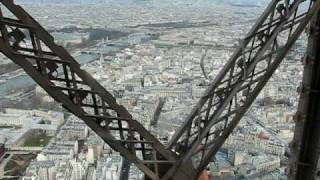 Eiffel Tower Elevator Ride Down