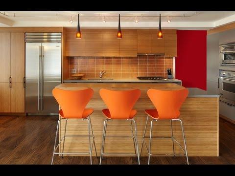 Taburetes de cocina o sillas de cocina decoraci n de interiores bar hogar cocina youtube - Cocina para bar ...