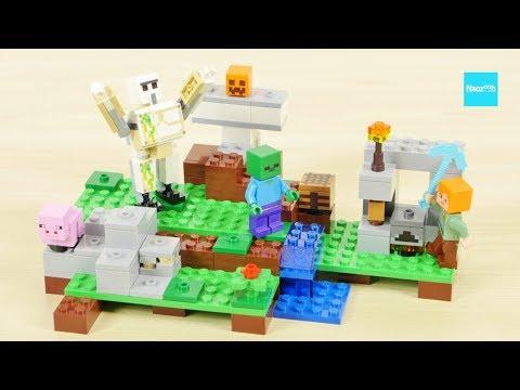 レゴ マインクラフト アイアンゴーレム 21123 セット説明 2:04~ / LEGO Minecraft The Iron Golem