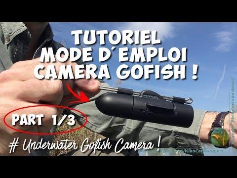 CAMERA SOUS-MARINE GOFISH - [Tutoriel underwater caméra GOFISH part 1/3]