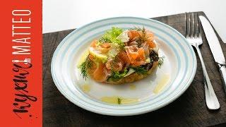 Домашний маринованный лосось(Маринованный лосось – очень вкусный деликатес. Но он вдвойне вкуснее, если сделан в домашних условиях...., 2016-11-15T20:10:07.000Z)