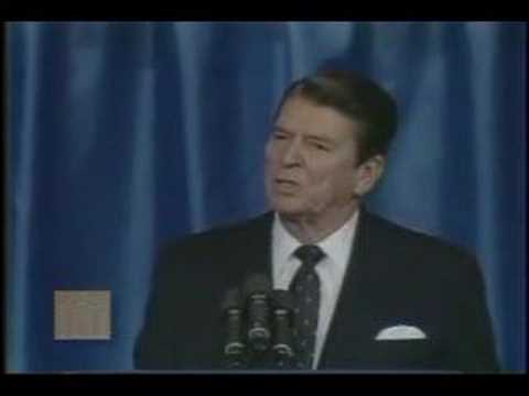 "President Ronald Reagan - ""Evil Empire"" Speech"