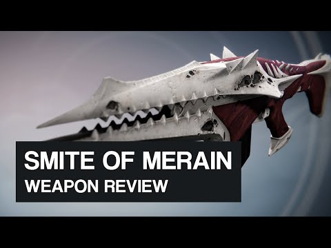 Smite Of Merain Pulse Rifle (King's Fall Raid Weapon) Overview/Review