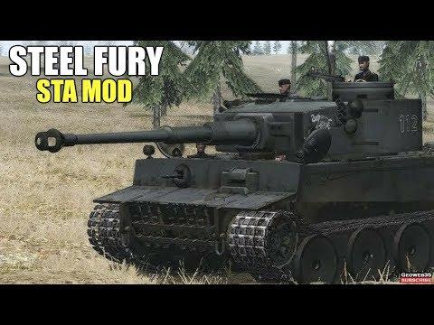 """Steel Fury Kharkov 1942 STA Mod """"Machine Head"""" Pz.VI H1 Tiger Tank Simulator"""