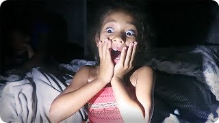 SCARY STORM POWER OUTAGE!!!