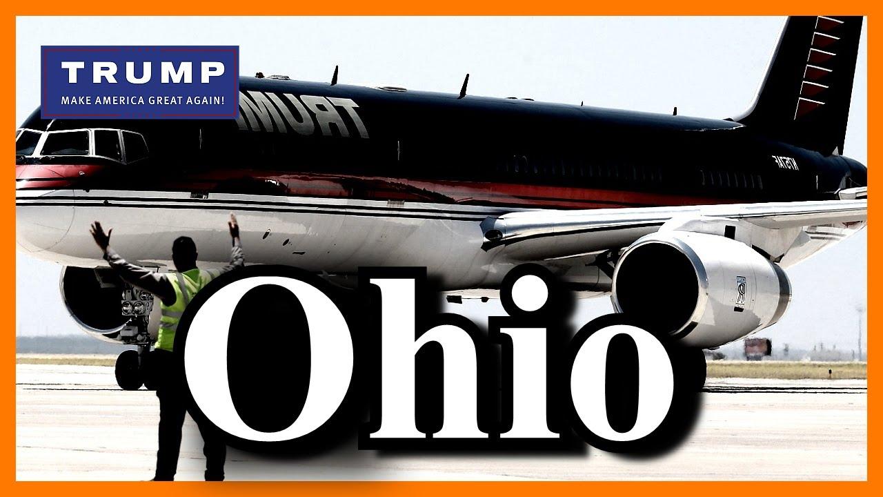LIVE Donald Trump Columbus Ohio Signature Flight Hangar FULL SPEECH HD ...