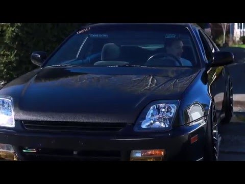 Clean & Slammed BB6 Honda Prelude in HD - Brenden