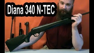 Обзор винтовки Diana 340 N-TEC | Oxotnika.net