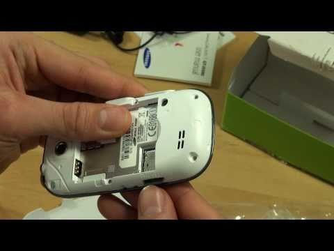 Samsung I5500 Galaxy 5 Test Erster Eindruck