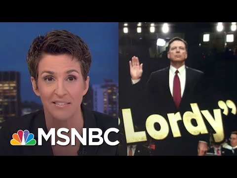 James Comey Testimony Grows President Trump Obstruction Case | Rachel Maddow | MSNBC