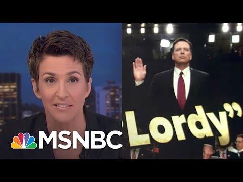 James Comey Testimony Grows President Trump Obstruction Case   Rachel Maddow   MSNBC