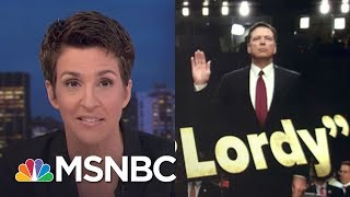 James Comey Testimony Grows President Trump Obstruction Case | Rachel Maddow | MSNBC Free HD Video