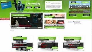 Repeat youtube video Zap-Hosting.com - Dein eigener Minecraftserver / Minecraftserver erstellen