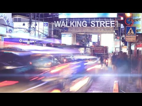 "Pattaya's famous ""Walking Street"""