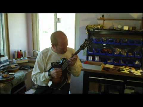 Kentucky KM1000, Loar LM700, Eastman MD915 mandolins