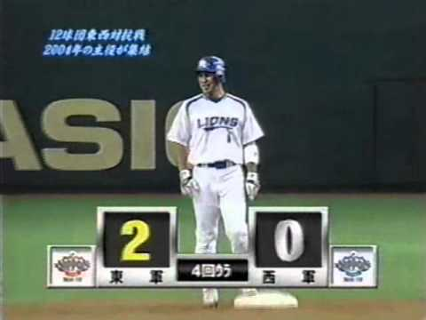 2004年 プロ野球東西対抗戦 東軍...