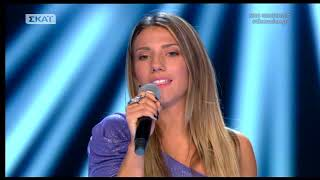 The Voice διαγωνιζόμενη την είπε στον Μουζουράκη