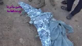 """Боевики """"Джейш аль-Изза"""" сбили российский БПЛА """"Элерон-3СВ"""" и попали под обстрел."""