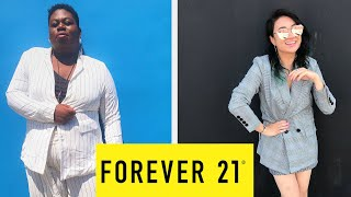 Women Try Forever 21's Business Casual Clothing