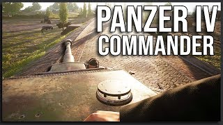 Panzer IV TANK COMMANDER - 40v40 Post Scriptum Gameplay (World War 2 Squad)