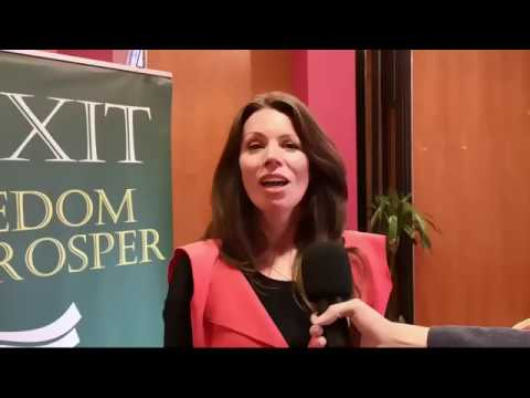 Interviews with attendees at IREXIT event