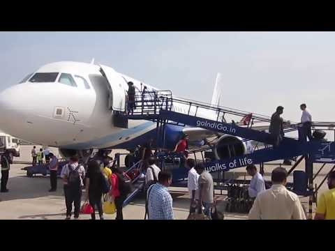 INDIA : Lucknow Chaudhary Charan Singh Airport Actions : Arrivals Takeoff Pushbacks 16 Mar 15