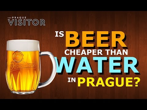 Prague: Is Beer REALLY cheaper than Water?