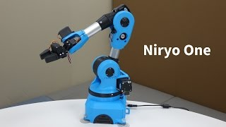 Niryo One on Kickstarter - an Accessible 6 Axis Robotic Arm for Makers, Developers and Students thumbnail