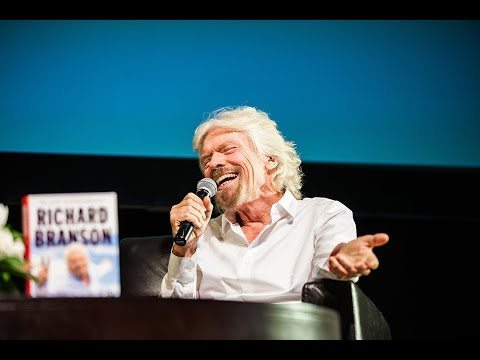 Authors@Wharton Speaker Series presents Sir Richard Branson