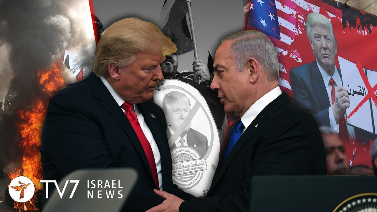 "Palestinians reject ""deal of century"", vow to conquer Jerusalem - TV7 Israel News 29.01.20"